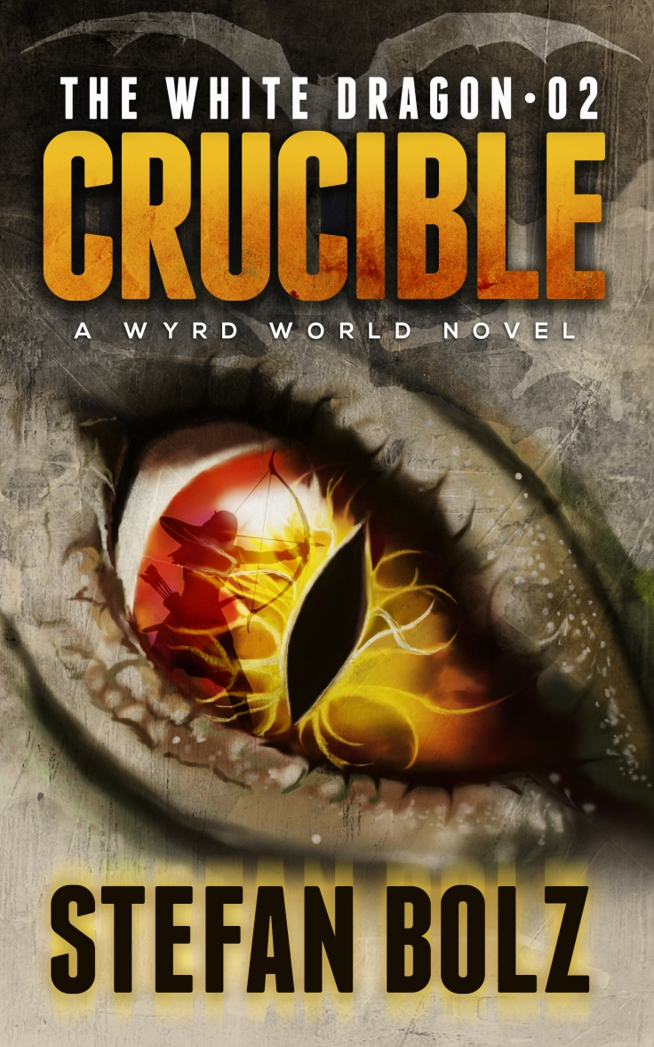 White Dragon Crucible EBook Cover