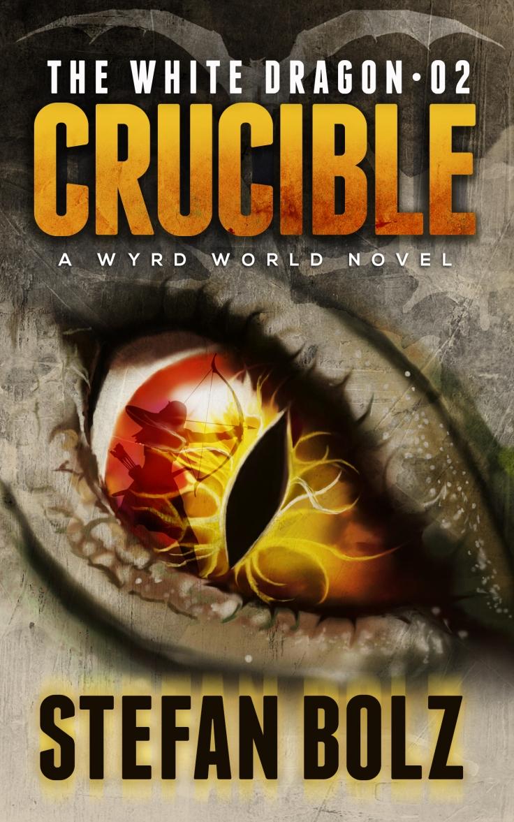 White Dragon Crucible EBook Cover